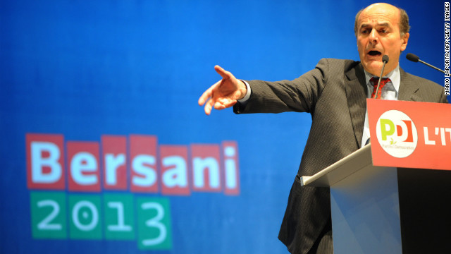 Italian center left Democratic Party leader Pier Luigi Bersani, pictured, laid claim Tuesday to mantle of prime minister but his party fell well short of a majority in senate raising specter of a minority government.