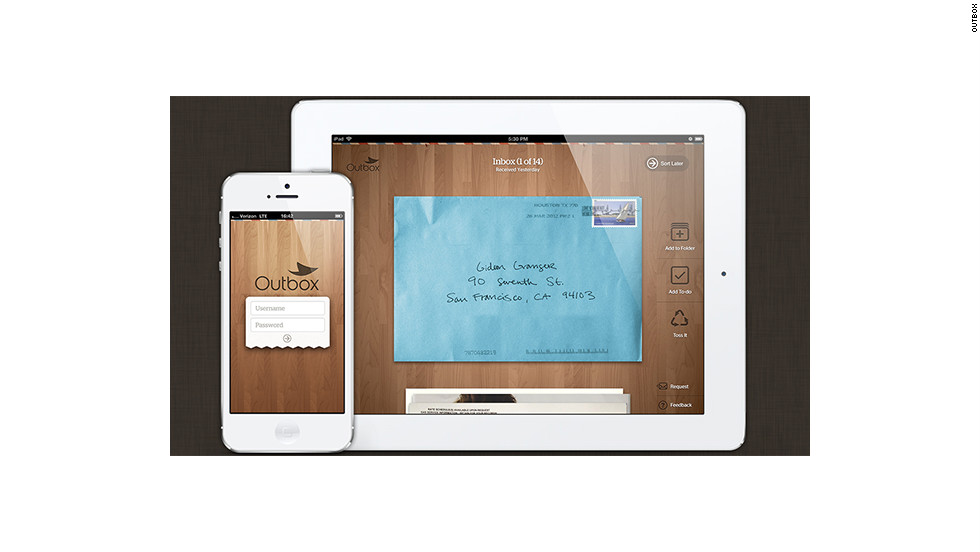 Once scanned, subscribers' mail will appear in digital form on iPhones and iPads. Customers can still request that certain pieces of mail be sent back to their homes.