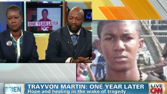 Martin's dad: Death seems like yesterday