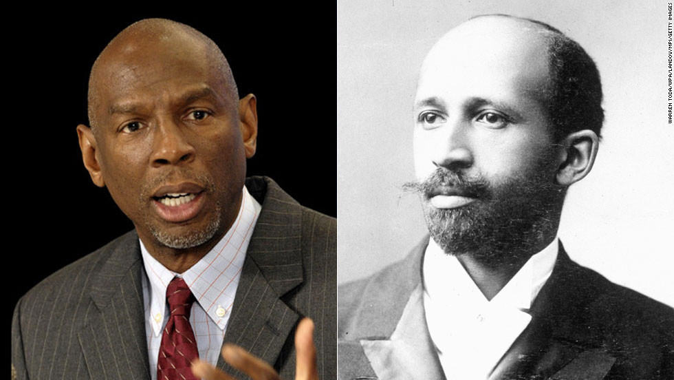 "W. E. B. Du Bois, right, was the first African-American to earn a doctorate degree from Harvard University. A writer and champion of civil rights (he was a co-founder of the NAACP), Du Bois was also an educator who thought the advantage of a higher education was paramount for African-Americans. Educator <a href=""http://hcz.org/about-us/leadership/geoffrey-canada/"" target=""_blank"">Geoffrey Canada</a> carries on Du Bois' tradition as the president of Harlem Children's Zone in Manhattan. His mission is to increase high school and college graduation rates of Harlem students."
