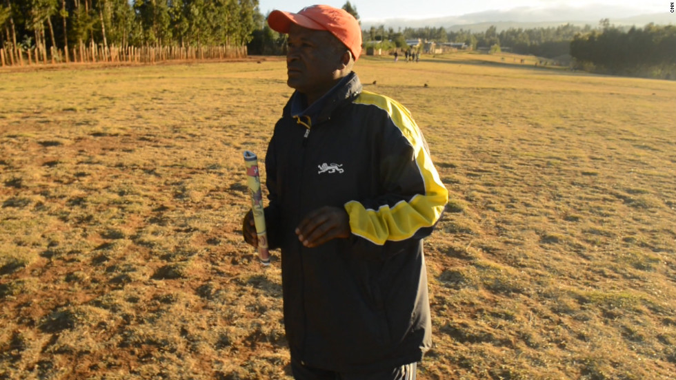 "Sentayehu Eshetu, or ""Coach,"" has discovered and nurtured the talents of several runners from Bekoji, including four Olympic gold medalists."