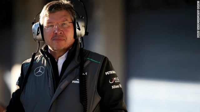 Ross Brawn has been in position at Mercedes since the manufacturer returned to Formula One in 2010.