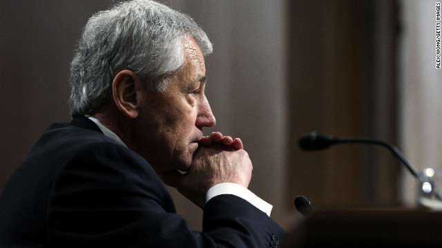 Senate confirms Chuck Hagel as defense secretary