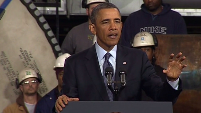 Obama: Cuts a 'self-inflicted wound'