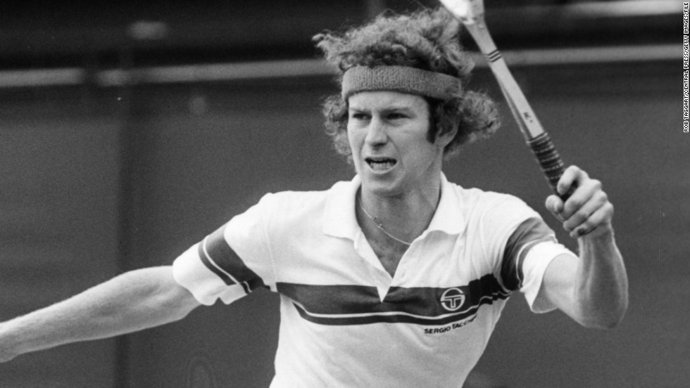 His great rival John McEnroe claimed six of the 11 won by U.S. men in the 1980s, with Connors taking three of those.
