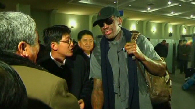 Dennis Rodman visits North Korea