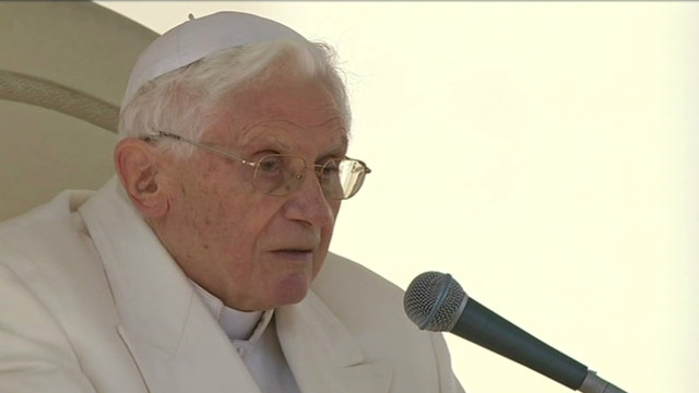 Pope: 'The Lord seemed to be sleeping'