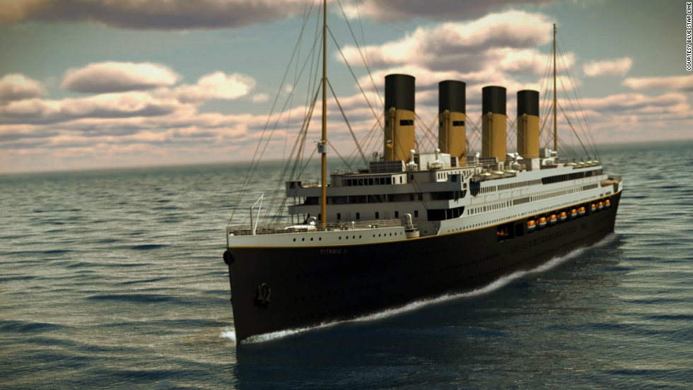 Blue Star Line Chairman Clive Palmer is determined to see the Titanic II (here in a rendering) set sail in 2016.