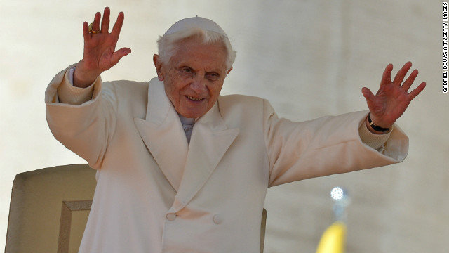 Pope Benedict's last day as pontiff