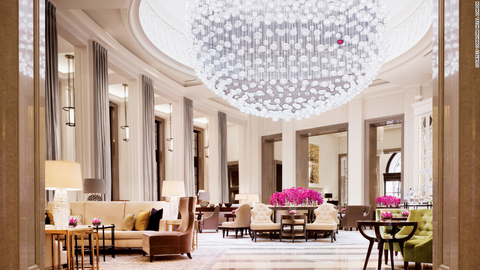 The opulent 294-room Corinthia Hotel -- once home to the Ministry of Defense -- reopened in the spring of 2011.