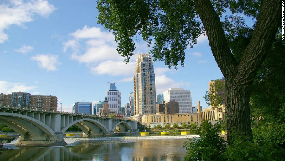 "Minneapolis is one of the <a href=""http://www.shape.com/fitness/top-10-fittest-cities-america"" target=""_blank"">fittest</a> and <a href=""http://www.sierraclubgreenhome.com/green-news/the-cleanest-and-the-most-polluted-cities/"" target=""_blank"">cleanest</a> cities in the country and one of the most forested. Every six blocks, there's a park, offering residents the opportunity for off-road cycling, hiking, canoeing and swimming. The city was one of the first to use the U.S. Forest Service's<a href=""http://www.itreetools.org/"" target=""_blank""> iTree assessment tool</a> to determine the benefits of its urban forest. As a result, Minneapolis can boast an urban forest with a <a href=""http://www.minneapolisparks.org/default.asp?PageID=52&prid=1947"" target=""_blank"">structural value of $756 million</a>."