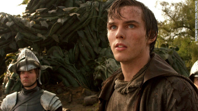 "Nicholas Hoult stars as Jack in the film ""Jack the Giant Slayer."""