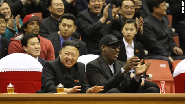 North Korea's new friend: Dennis Rodman