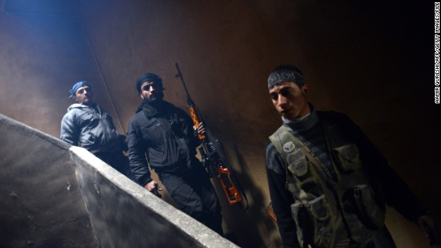 U.S. promises aid to Syrian rebels