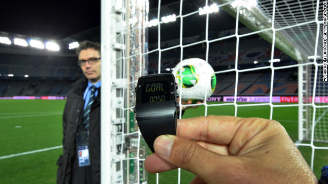 The GoalRef system was one of two trialled at December's Club World Cup in Japan.