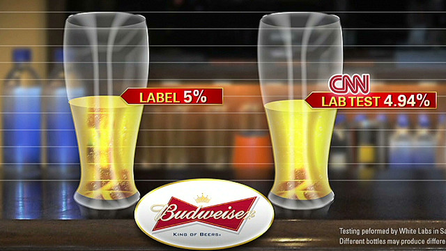 How much alcohol is really in your Bud?