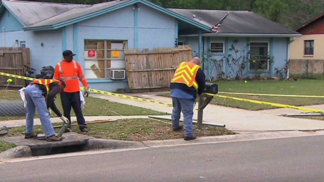 Sinkhole victim's brother: I have nothing