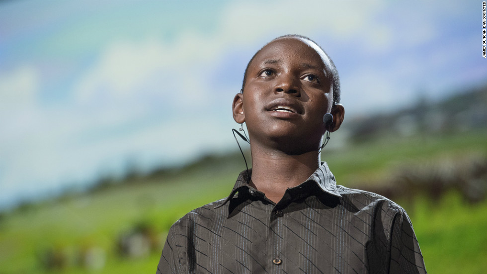 13-year-old Richard Turere invented a system to protect livestock from marauding lions in Kenya.