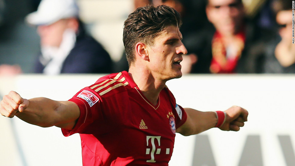 Mario Gomez scored the only goal of the game as Bayern Munich retained its 17 point lead at the top of the Bundesliga with a 1-0 win at Hoffenheim. Bayern has won 20 of its 24 league games so far this season, suffering just one defeat.