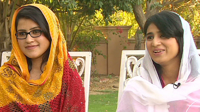 Malala's friends honored with award