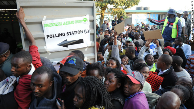 Polls open in Kenya elections