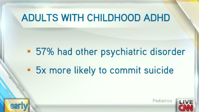 Study:  ADHD may continue in adulthood