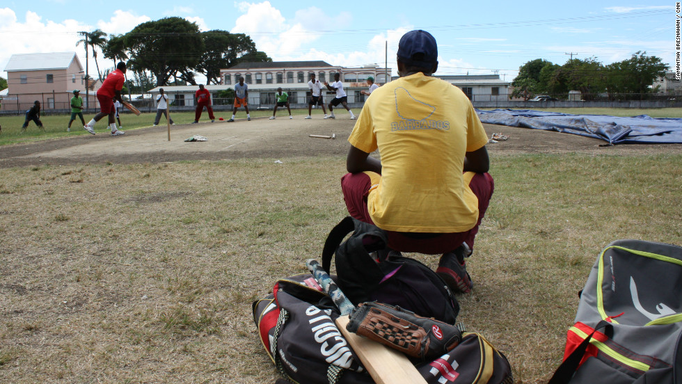Young hopefuls at the clinic dream of replicating legendary batsmen like Brian Lara and Viv Richards.