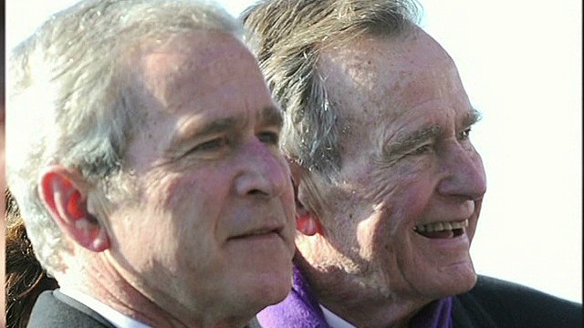 George H.W. Bush reveals letters to son