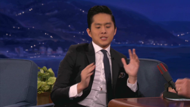 Justin Chon picked prosthetic phallus