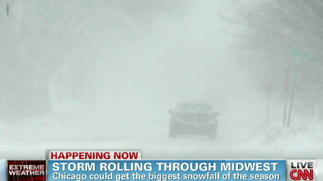 Chicago gears up for severe snowfall
