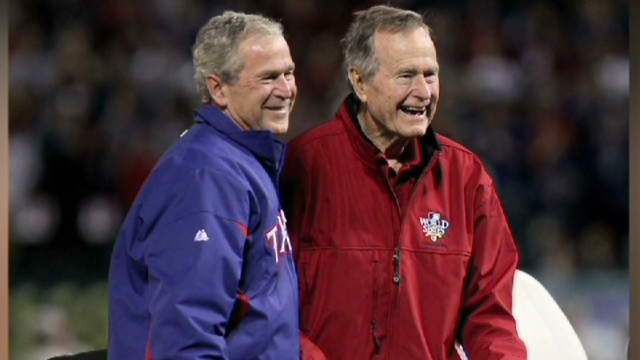 Bush '41' opens up about Bush '43'