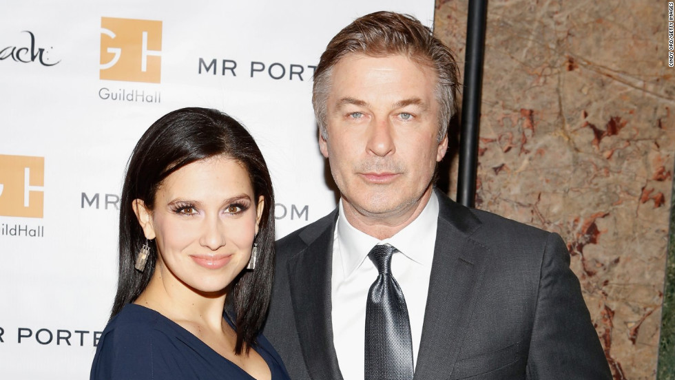 Hilaria and Alec Baldwin attend an event in New York City.