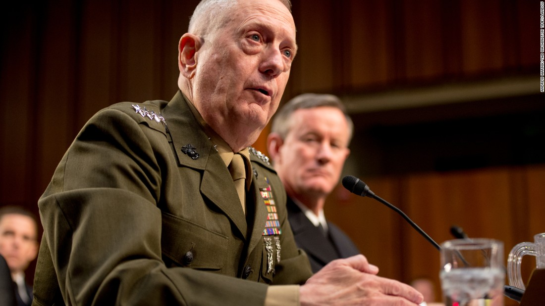 Defense nominee James Mattis emerges with strong support