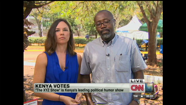 TV show pokes fun at Kenyan politicians