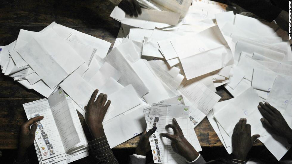 Photos: Kenya elections