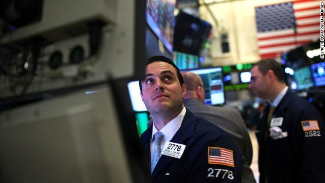 Dow surges amid sluggish economy