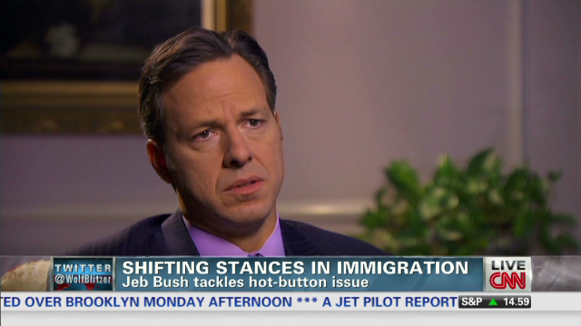 Bush's shifting stances in immigration