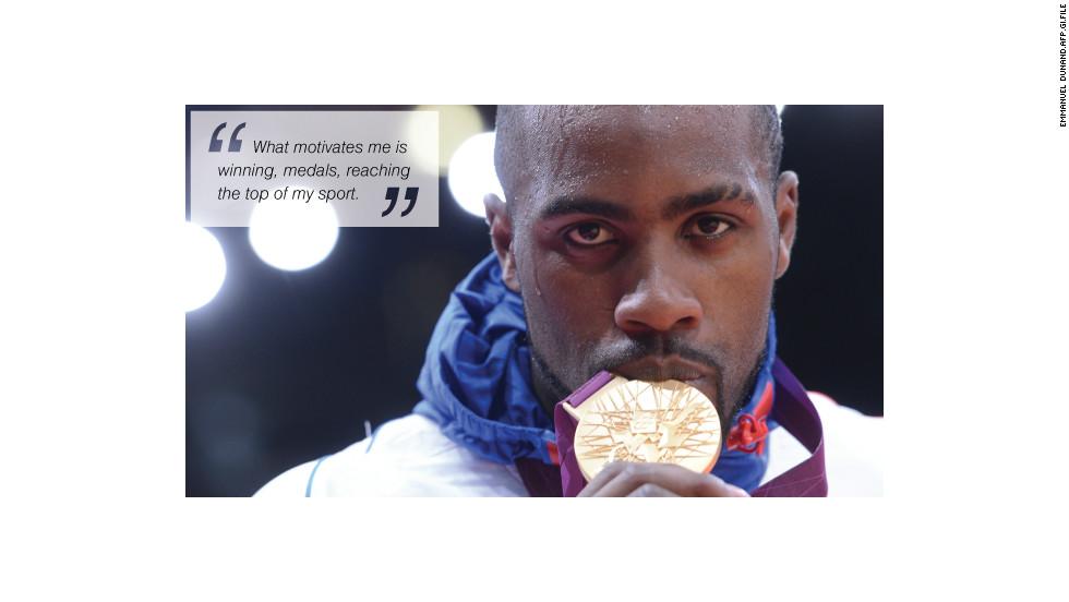 teddy riner medal
