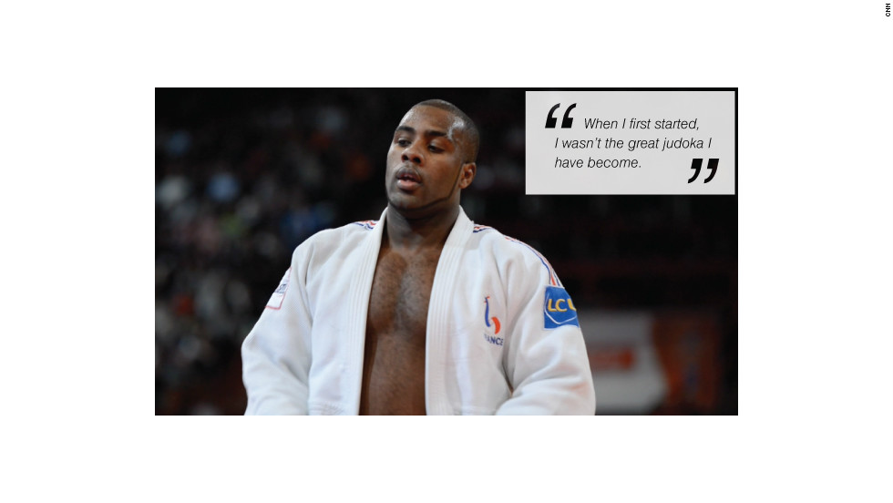 Teddy Riner fighting