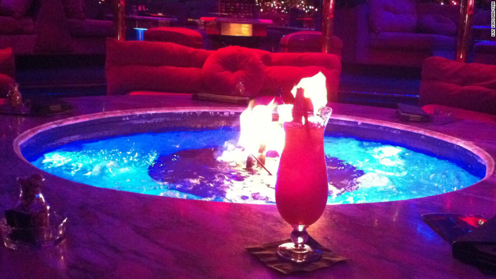 No trip to Vegas is complete without a cocktail at the Peppermill Restaurant's Fireside Lounge. It's been open 24/7 since December 26, 1972.