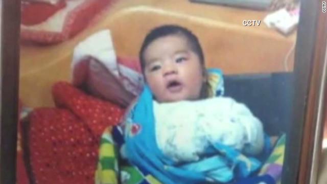 Baby killed in Chinese carjacking