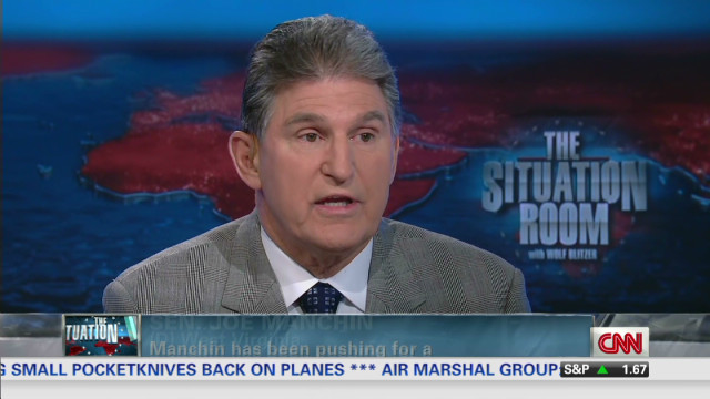 Manchin points to progress on gun law