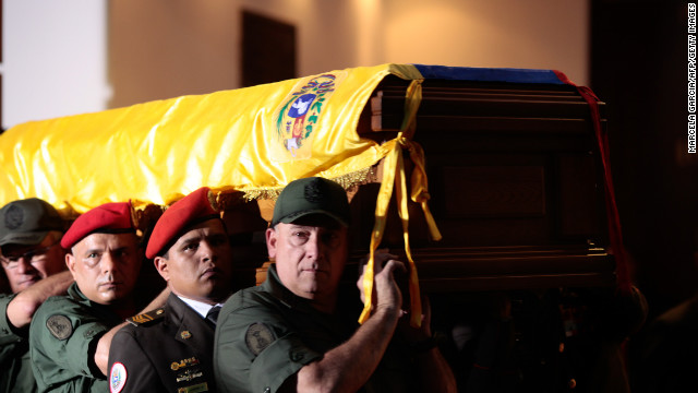 Chavez to be embalmed for display