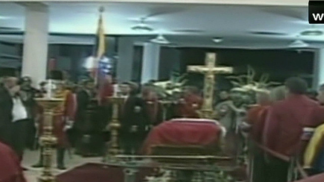 Paying last respects to Hugo Chavez