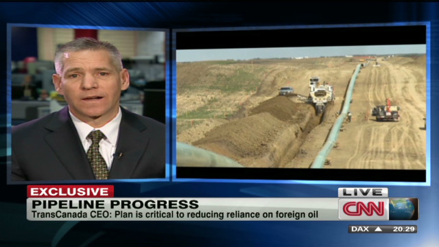 Progress of the Keystone XL pipeline