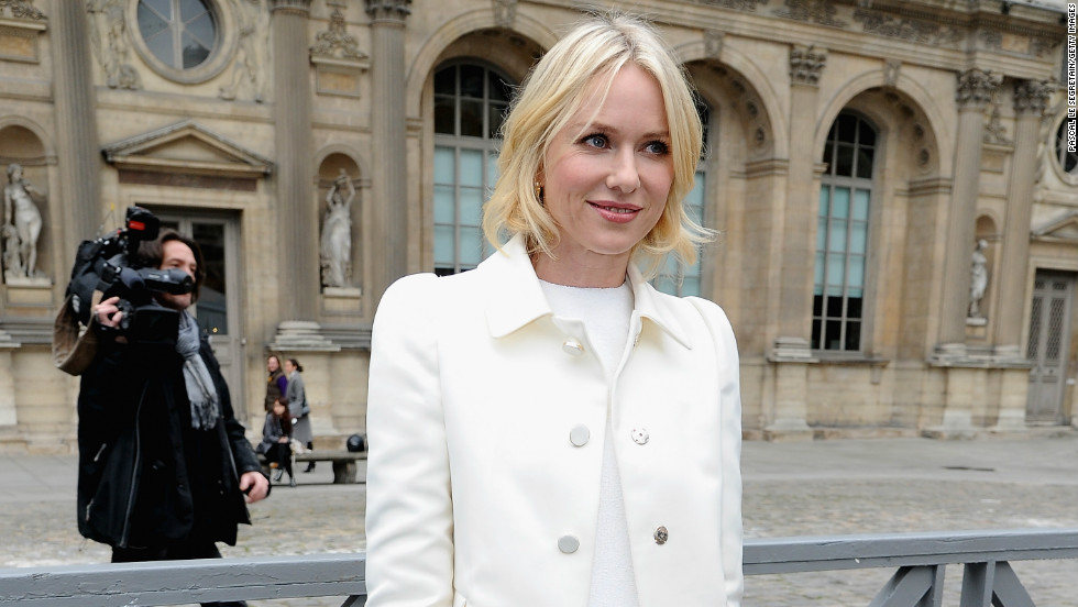 Naomi Watts steps out in Paris, France, on March 6.