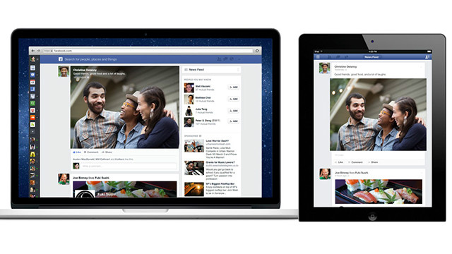 Facebook unveils redesigned news feed