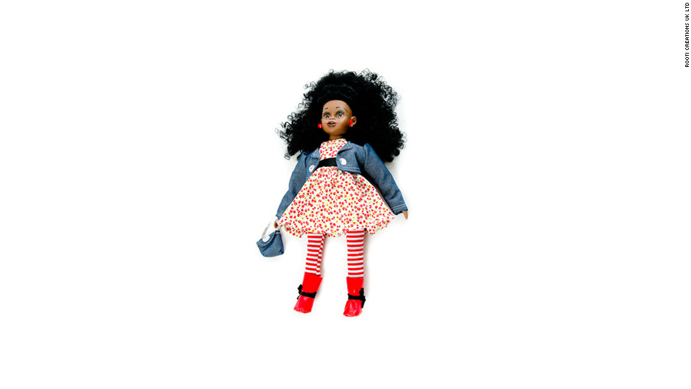 "Nubya ""is originally from Cape-Town born parents who moved to London years before"" her birth, say her creators. The doll is programmed to speak Zulu, Xhosa, Sotho, and Afrikaans."