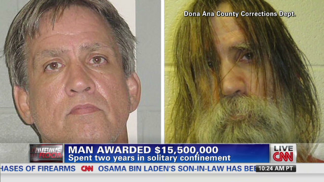 Man held in solitary for two years
