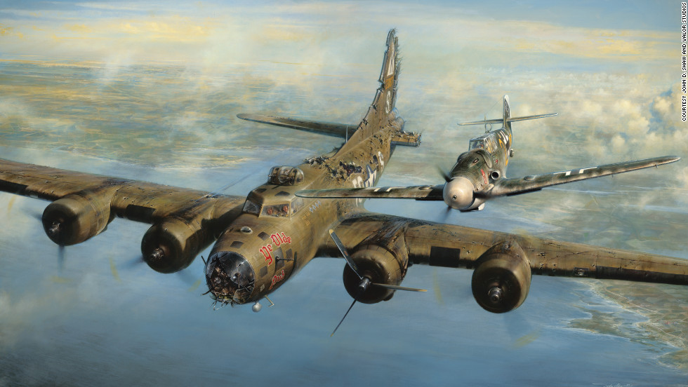 "Five days before Christmas 1943, a helpless American bomber pilot locked eyes with a German fighter pilot over the frozen skies of Europe. The German pilot spared the life of the American, and both men would reunite and become friends 50 years later. Franz Stigler and Charles Brown started the war as enemies, but during a tense wartime encounter, both men discovered a higher call. Click through the gallery to see more examples of military chivalry through the ages.<br /><br />Source: <a href=""http://valorstudios.com/a-higher-call-book.htm"" target=""_blank"">""A Higher Call,"" by Adam Makos and Larry Alexander</a>"